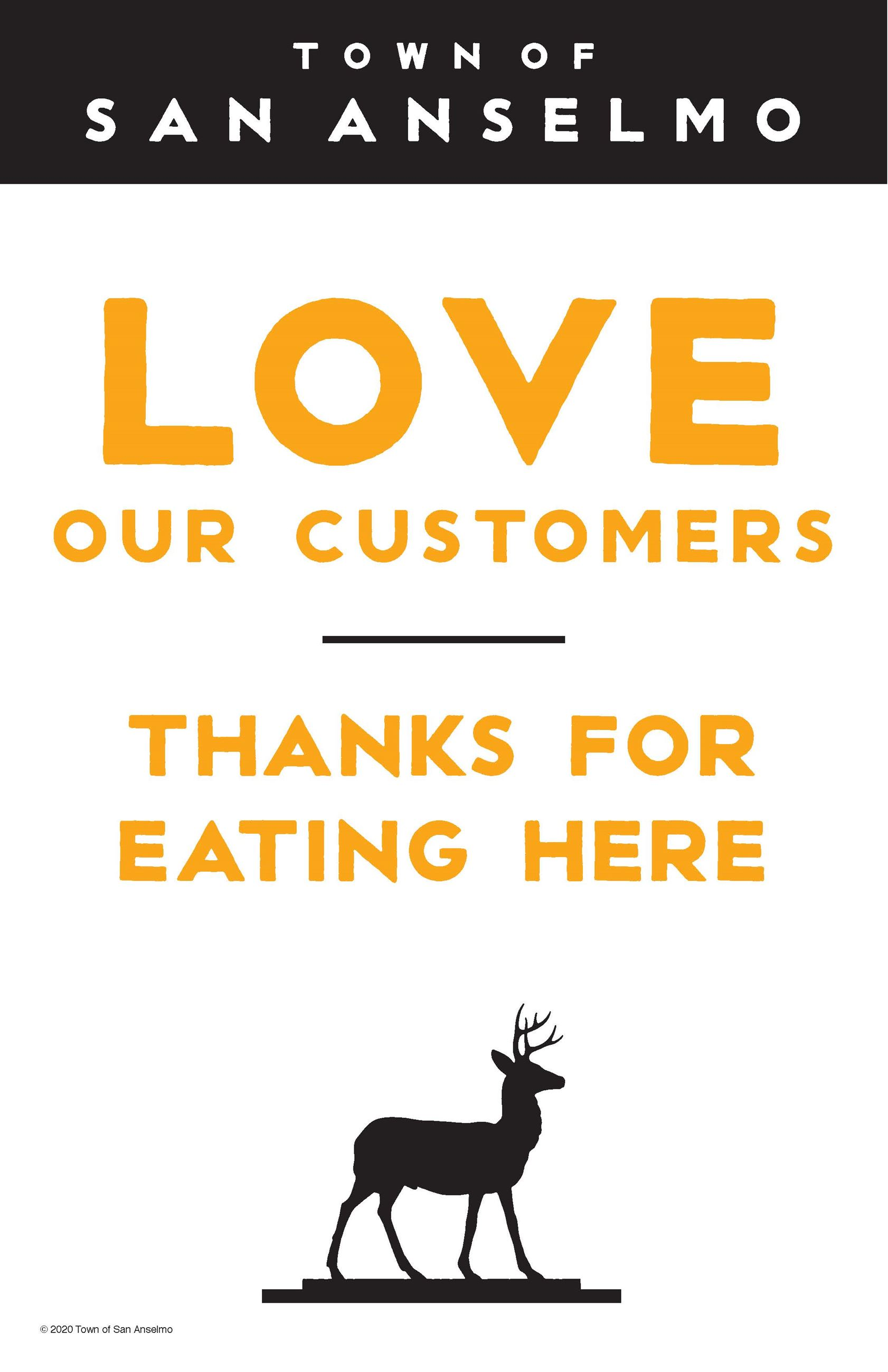 Love our Customers Eat