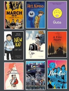 Graphic Novels and Comics for teens