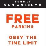 FREE Parking obey the time limit
