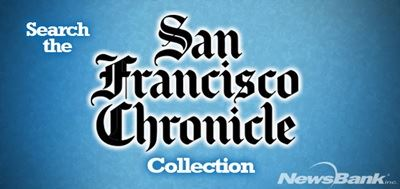 Newsbank SF Chronicle