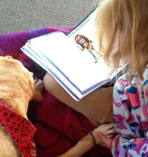 read to a dog photo for website