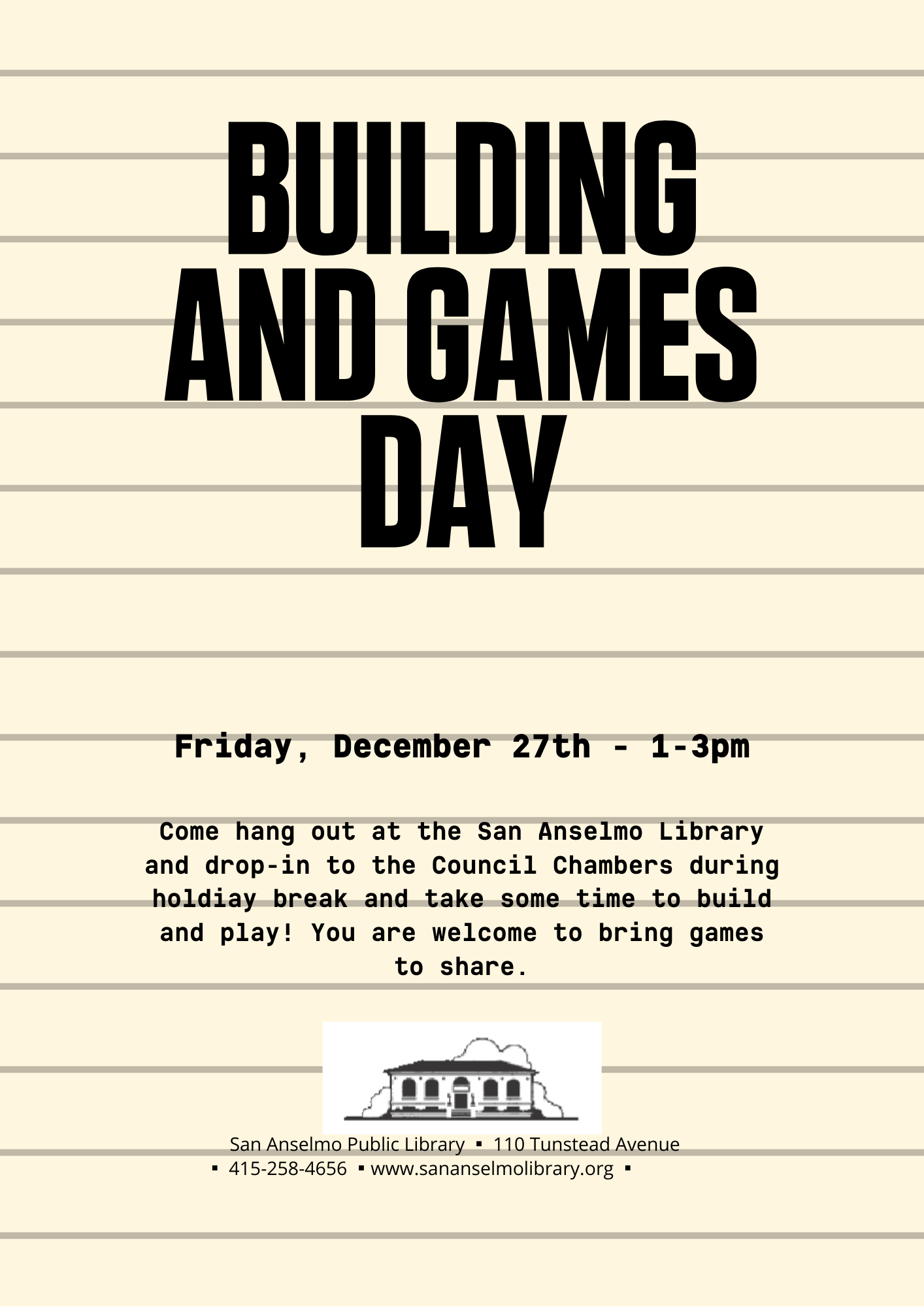 Building and Games Day png